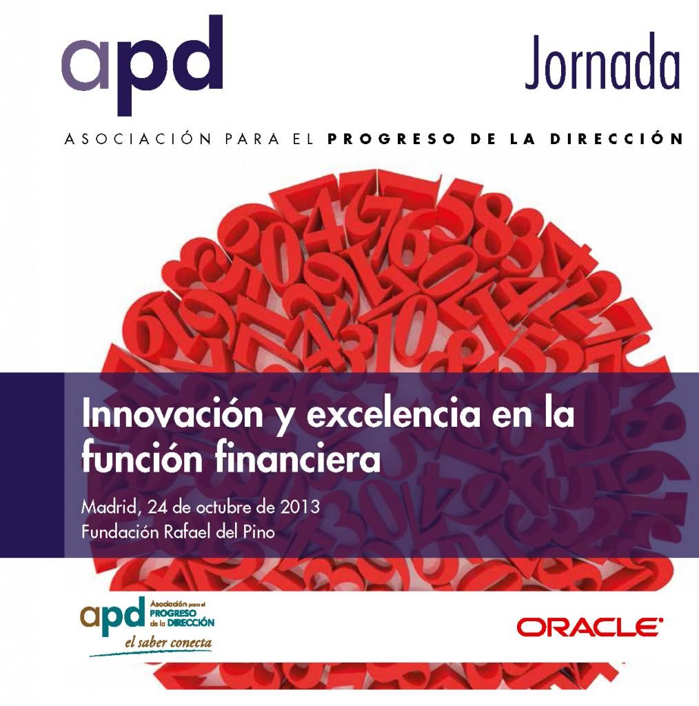 Jornada APD innovación y excelencia en la función financiera